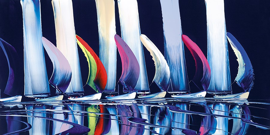 True Colours by Duncan MacGregor -  sized 44x22 inches. Available from Whitewall Galleries